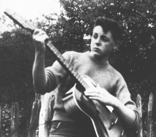 Paul McCartney in 1957